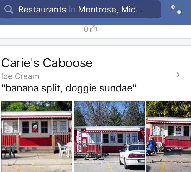 Carie's Caboose: 287 E State St, Montrose, MI