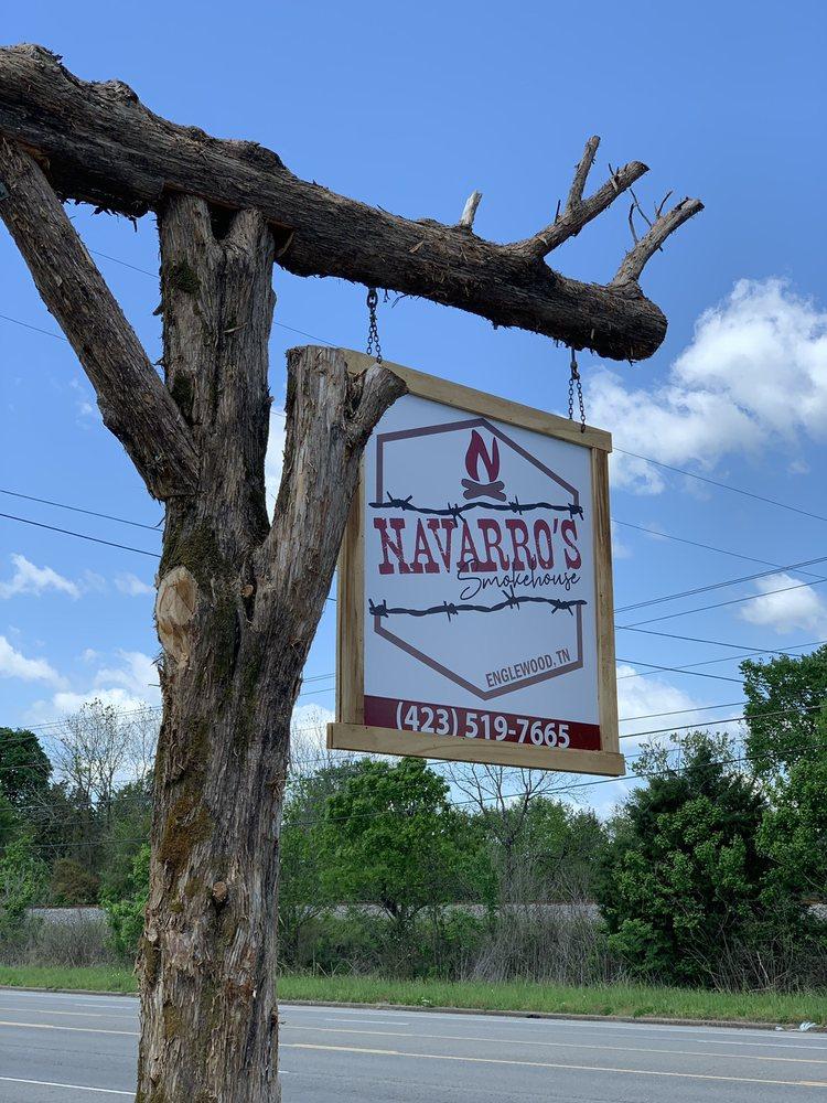 Navarro's Smokehouse: 3268 Highway 411 N, Englewood, TN