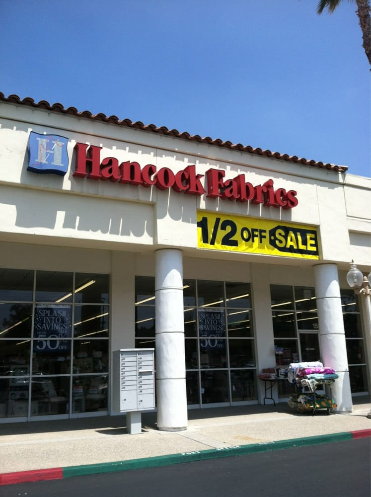 Hancock fabrics closed 11 reviews fabric stores for Fabric outlet near me