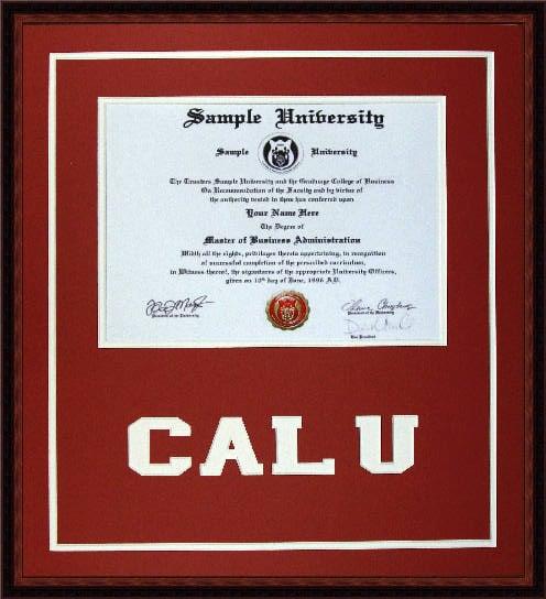California University of Pa Diploma and Degree Frame - Yelp