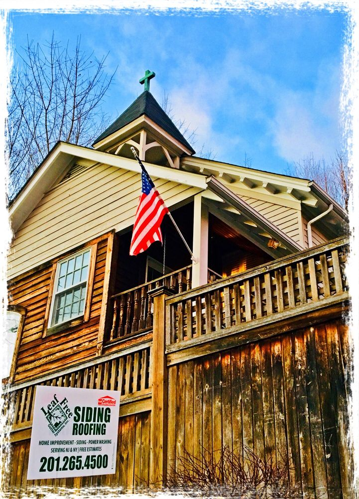 Leaf Free Home Improvements: 111 Kinderkamack Rd, Emerson, NJ