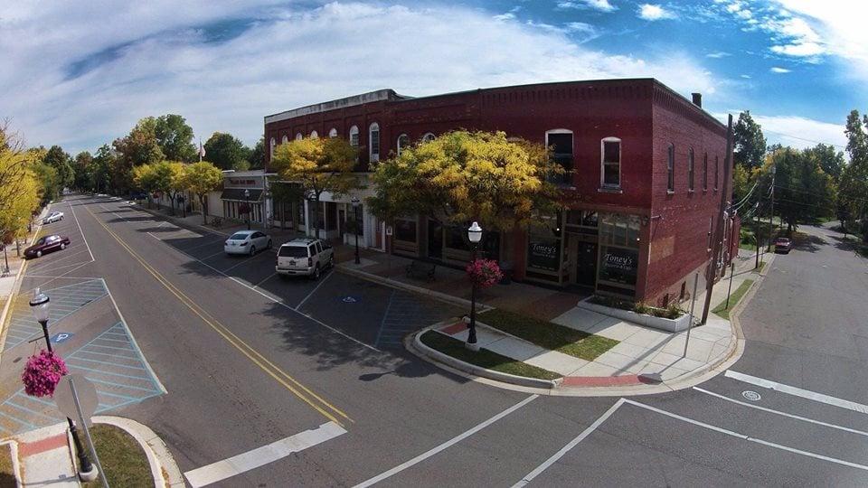 The Village Cafe: 100 E Main St, Vernon, MI