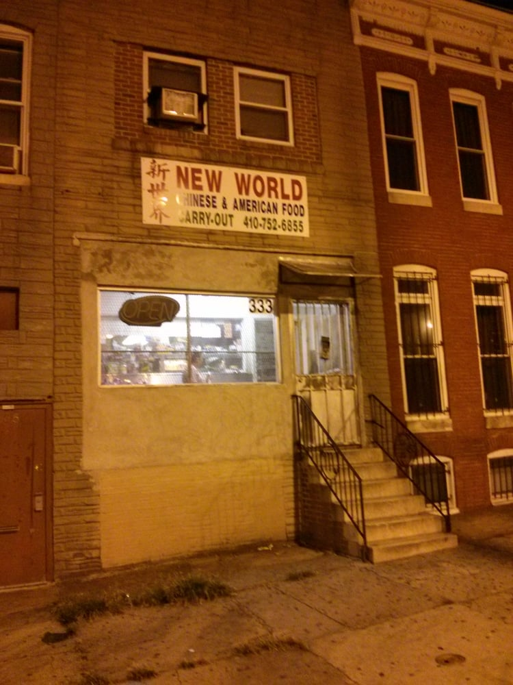 New World Carry Out: 333 E North Ave, Baltimore, MD