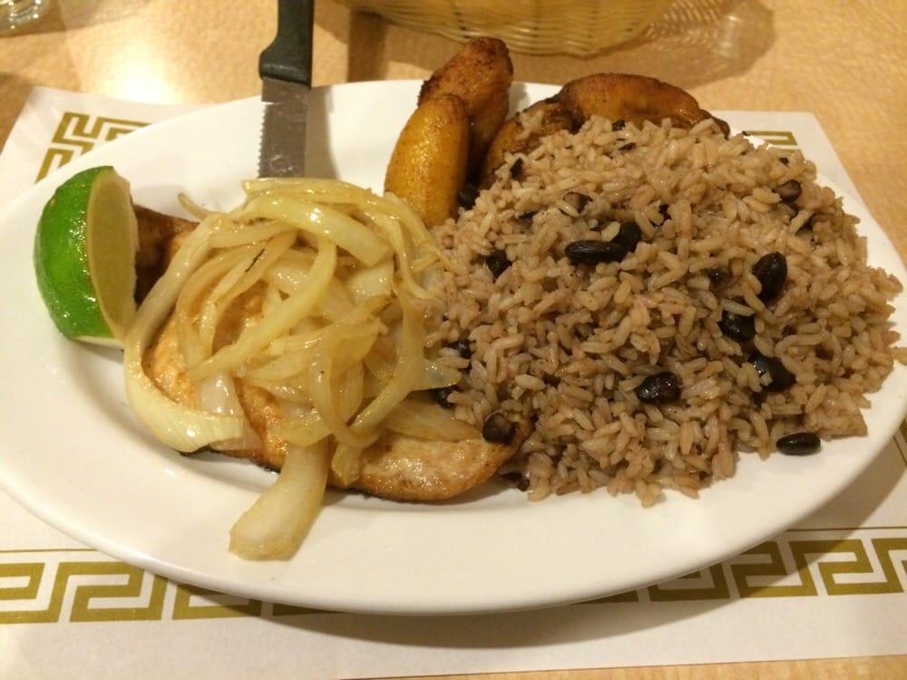 Pechuga de pollo a la placha lunch pan fried chicken for Jardin de china