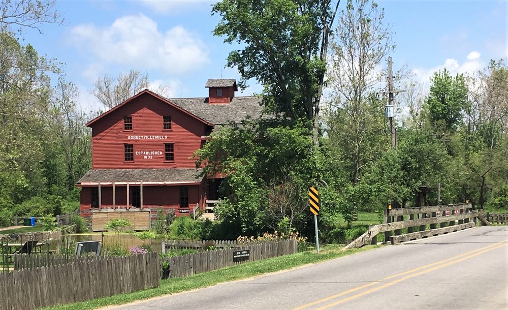 Bonneyville Mill County Park: 53373 County Rd 131, Bristol, IN