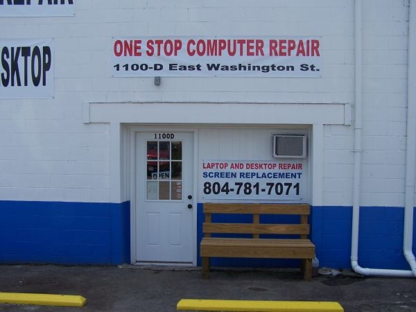 One Stop Computer Repair: 1100 E Washington St, Petersburg, VA