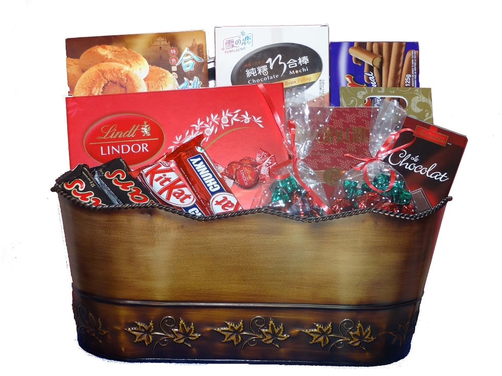 All gourmet gift baskets free ground shipping to Canada. Prices include tax. - Yelp