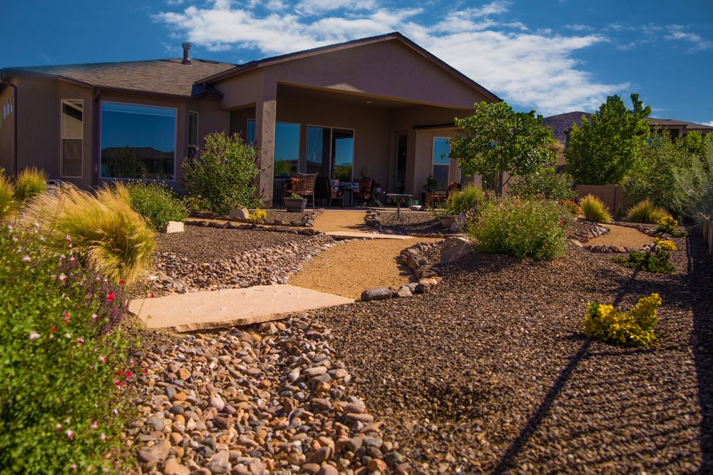New Life Landscapes: 8815 E Spurr Ln, Prescott Valley, AZ