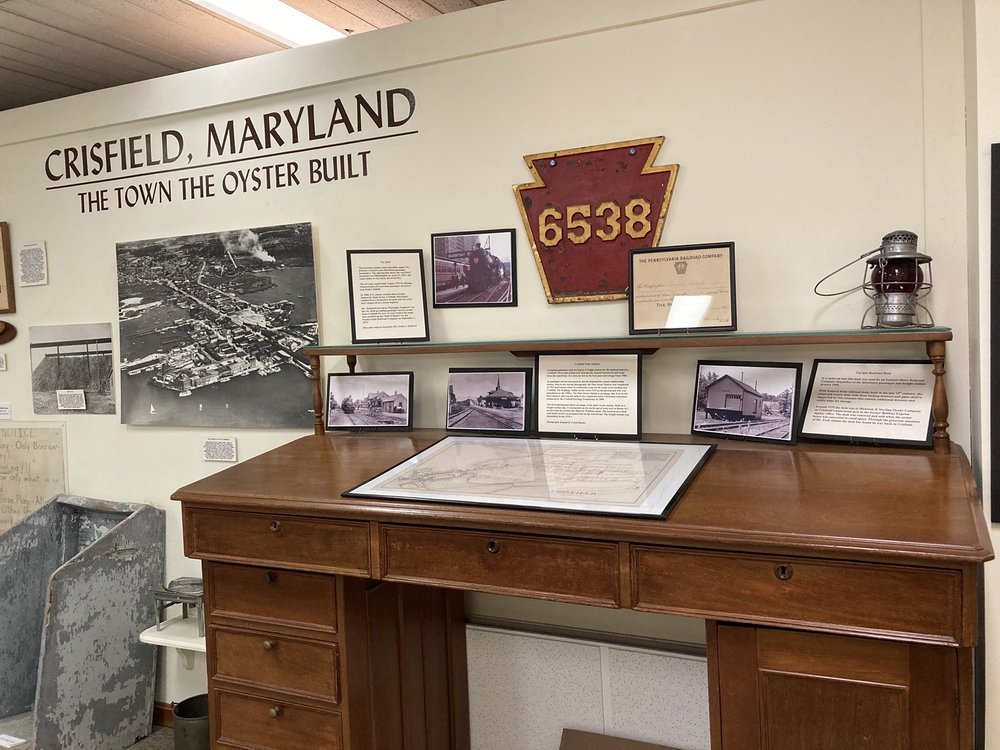 Tawes J Millard Museum: 3 9th St, Crisfield, MD