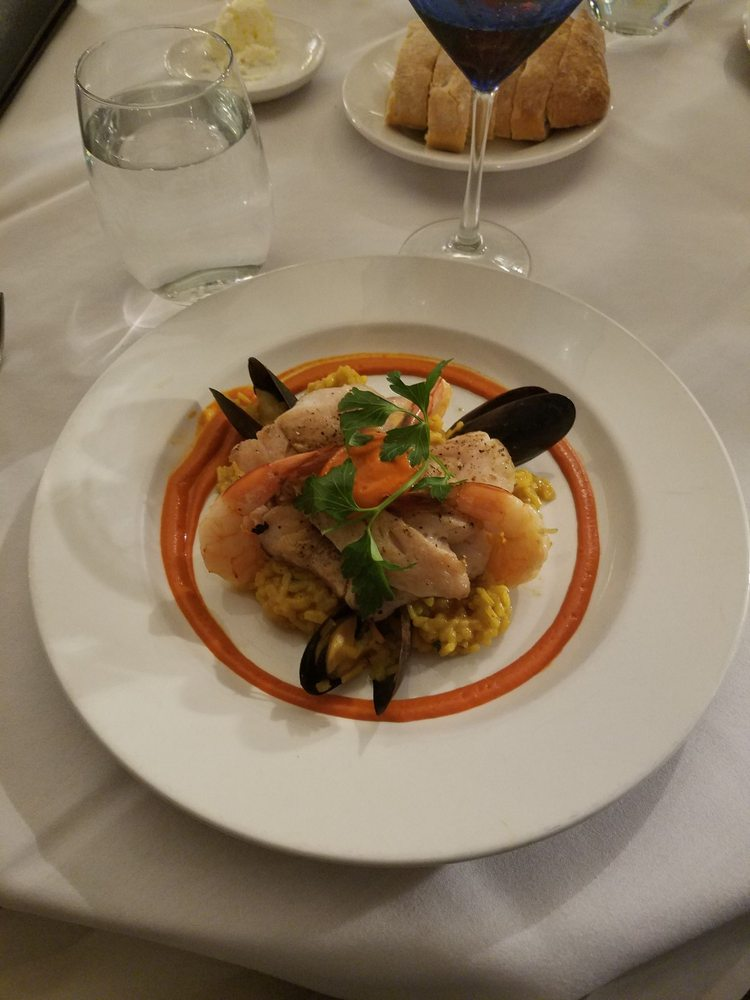 Mendocino Hotel Victorian Dining Room