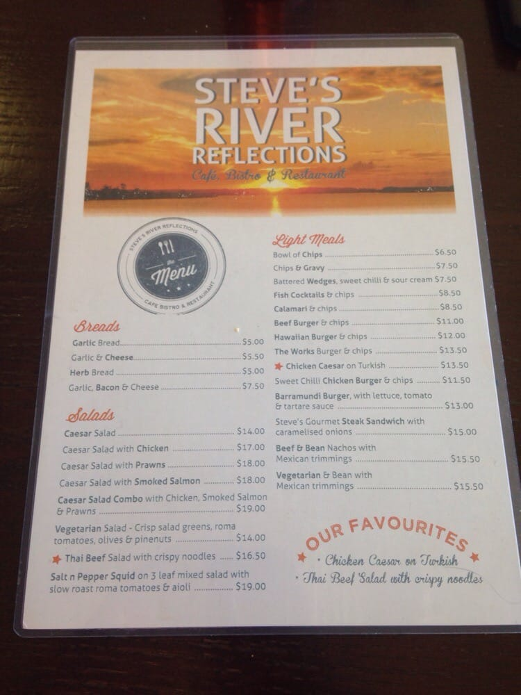 Steve's River Reflections