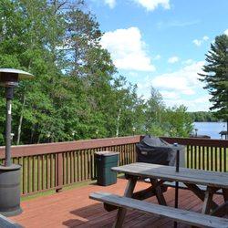 Photo Of Hiawatha Lodge Inn Eagle River Wi United States Deck