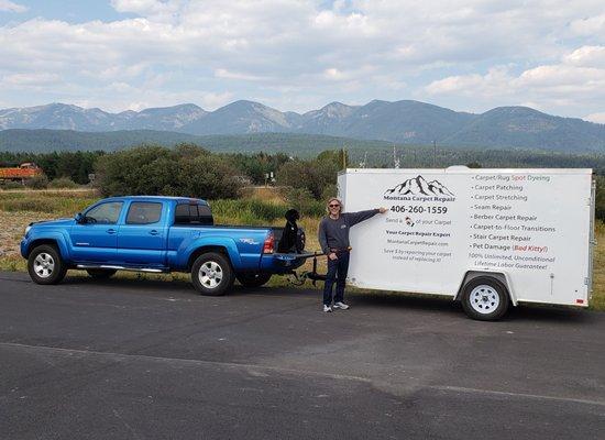 Photo of Montana Carpet Repair - Whitefish, MT, United States. Montana Carpet Repair