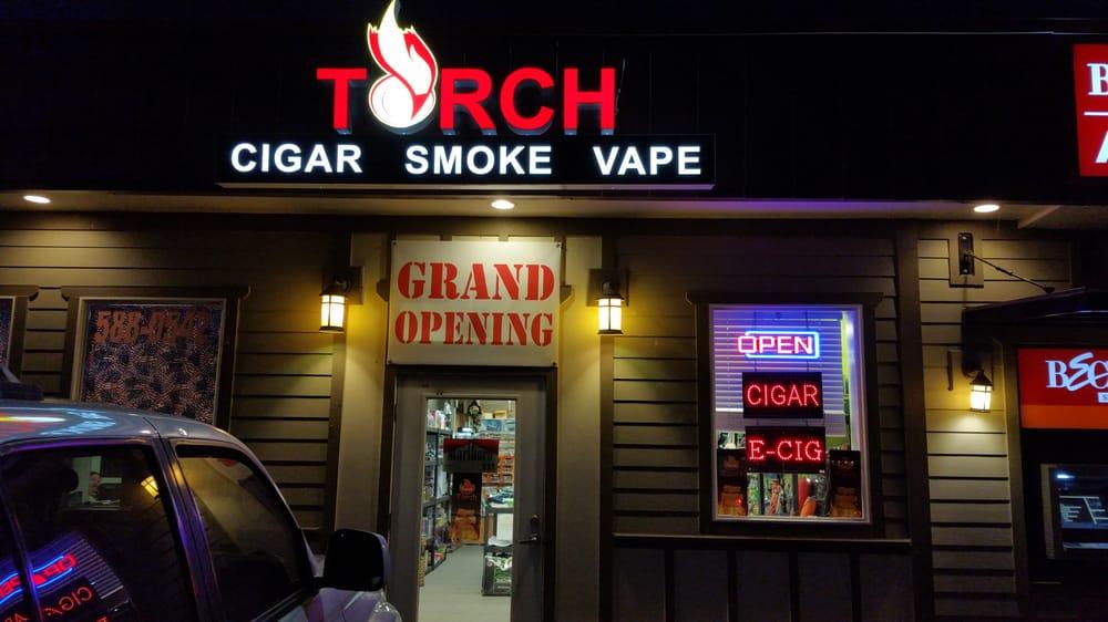 Torch Cigar Smoke Vape: 1004 12th St, Anacortes, WA