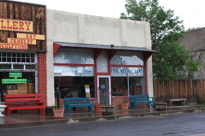Cimarron Blue: 341 East 9th St, Cimarron, NM