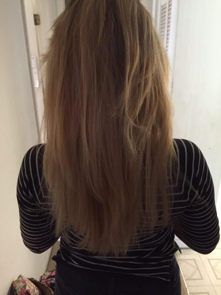 My Hair After It Was Bleached Twice By Bleach Hair Addiction Notice