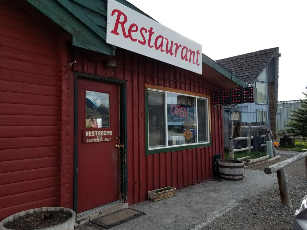 Silver Dollar cafe: 201-299 S Railroad St, Leadore, ID