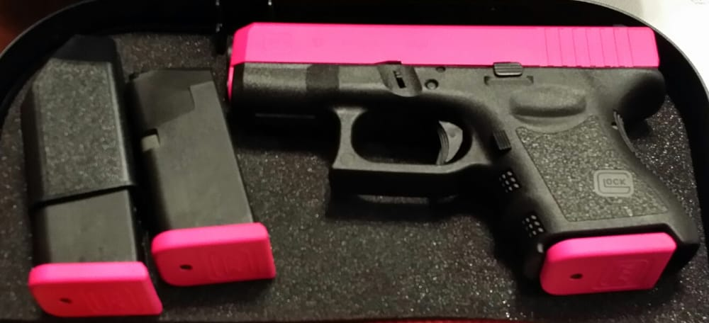 Glock 26 With Razzle Rose Duracoat Yelp