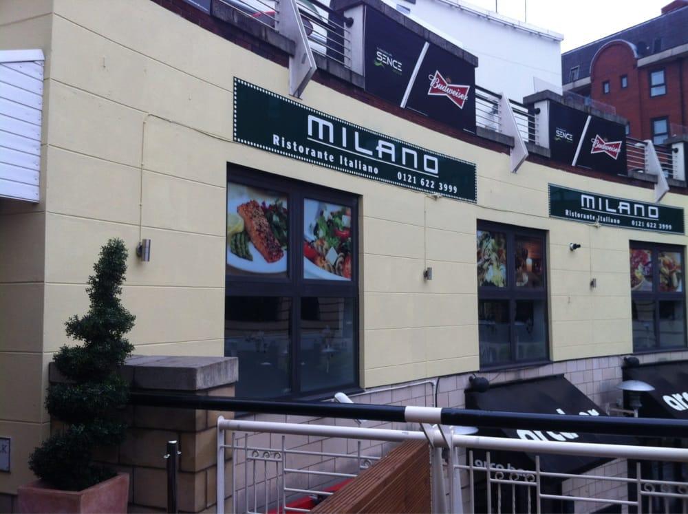 Milano Italian Restaurant Birmingham