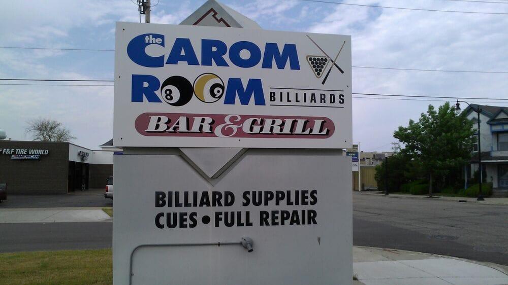 Carom Room: 614 E Grand Ave, Beloit, WI