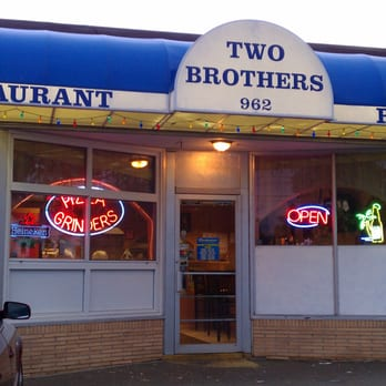 Photo Of Two Brother S Pizza Restaurant Bristol Ct United States
