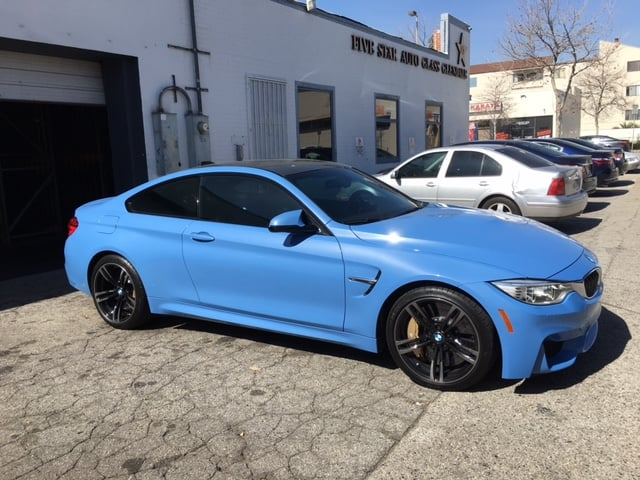 2016 bmw m4 35 3m color stable with 3m 70 crystalline. Black Bedroom Furniture Sets. Home Design Ideas