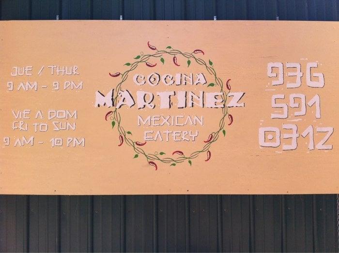 Cocina Martinez: 310 Travis St, Center, TX