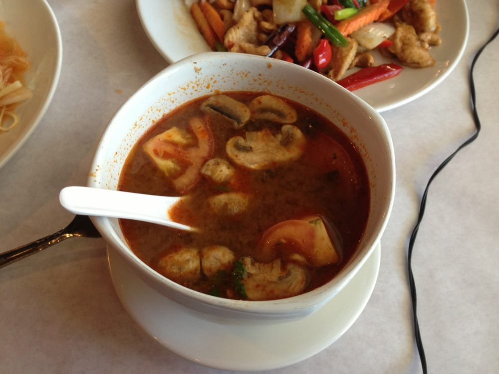 Tom yum soup yelp for Anothai cuisine cypress