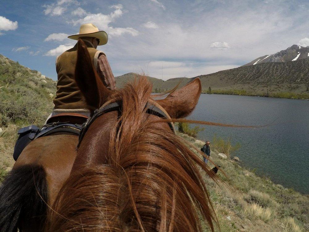 Convict Lake Horseback Riding: 2000 Convict Lake Rd, Mammoth Lakes, CA