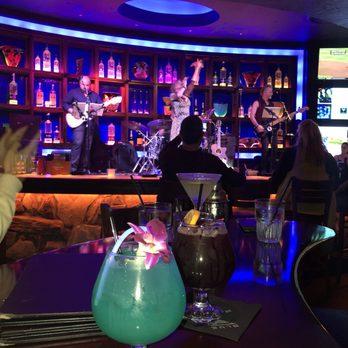 The blue martini plano