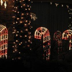 photo of holiday lights decorating phoenix az united states