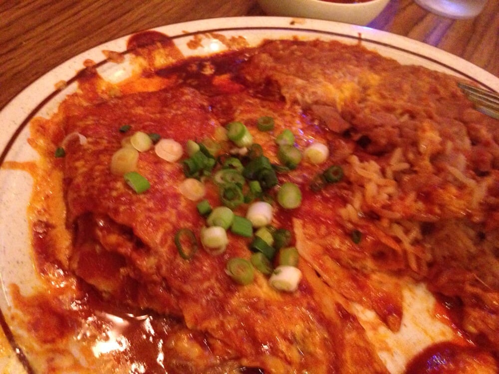 Enchiladas Rice N Beans Elvis Galore Yelp