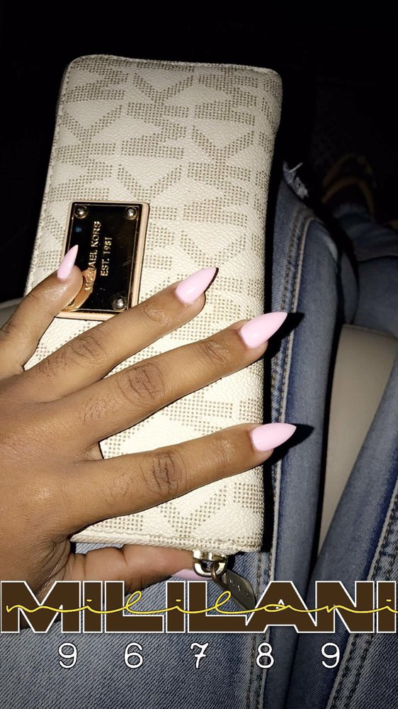 Full set stiletto nails. Gel color. IN LOVE - Yelp