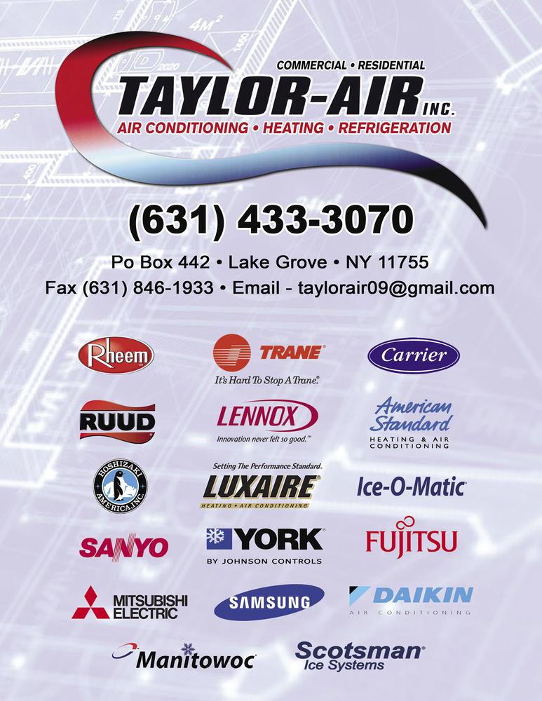 Taylor Air: Suffolk county, NY