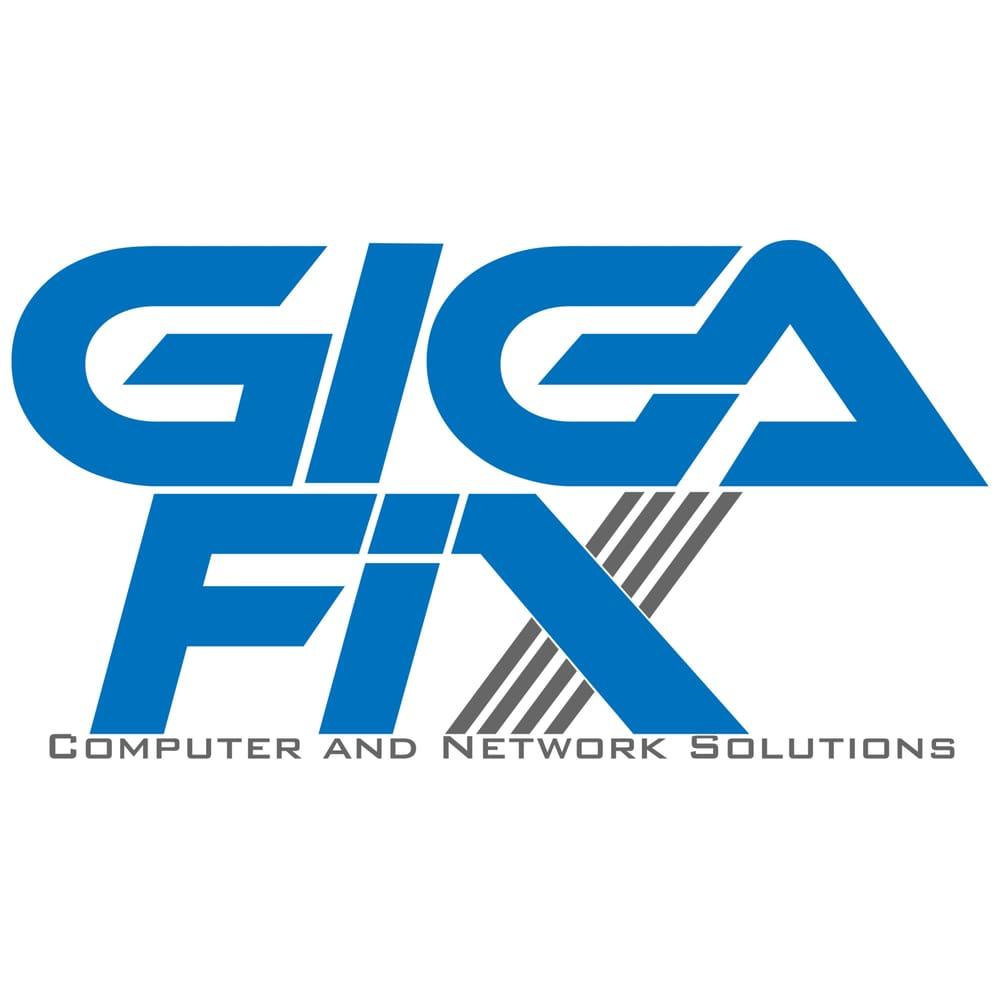 GIGA Fix Logo - YelpComputer Network Logo