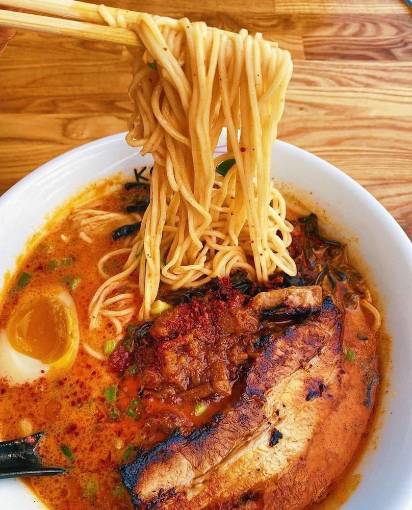 Food from Kotsu Ramen & Gyoza