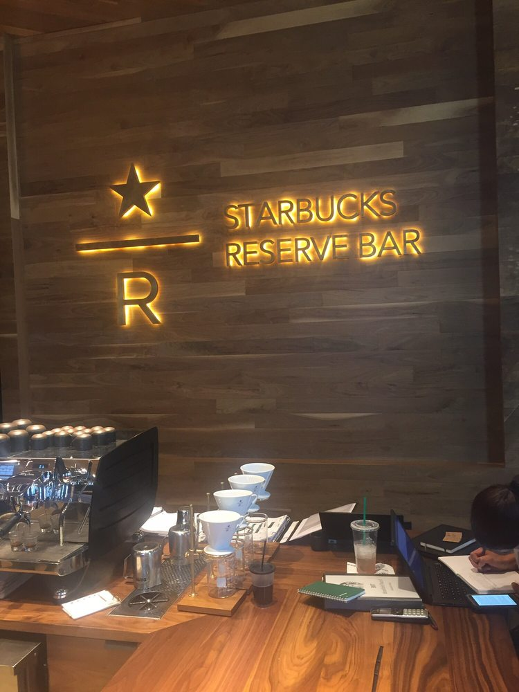 Starbucks Reserve Bar Yelp