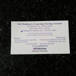 NYU Winthrop L I  Gynecologic Oncology Associates - Medical Centers