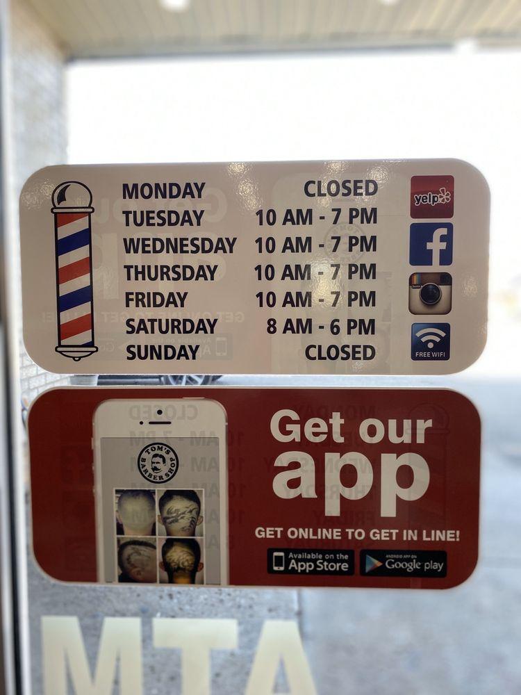 Tom's Barber Shop