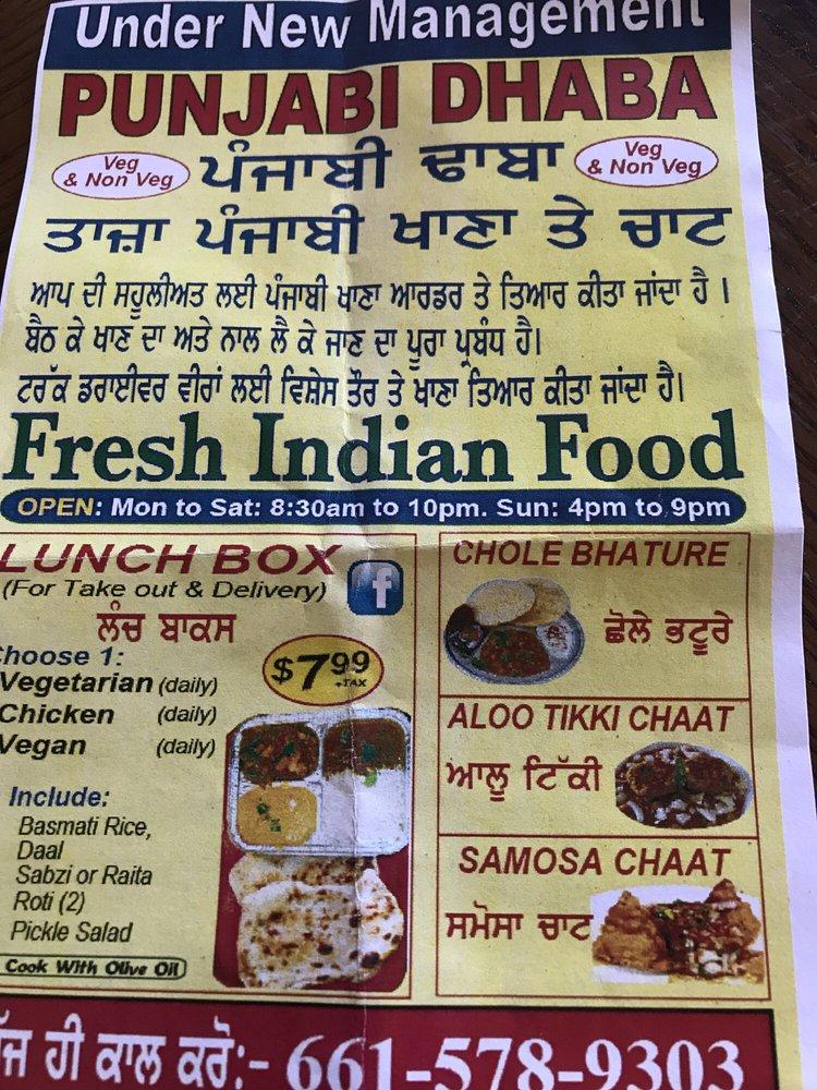Punjabi Dhaba: 2546 S Union Ave, Bakersfield, CA