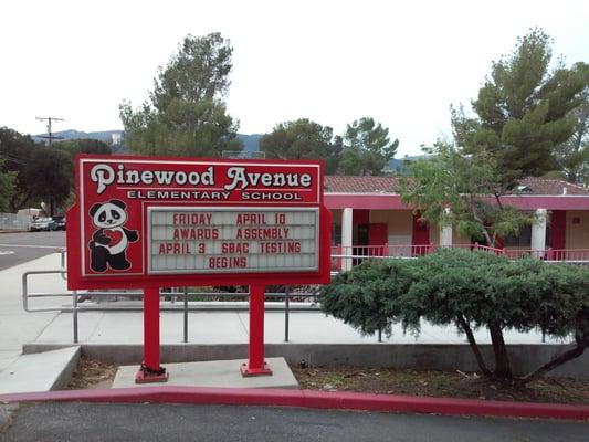 Pinewood Elementary School ~ Pinewood ave elementary school schools