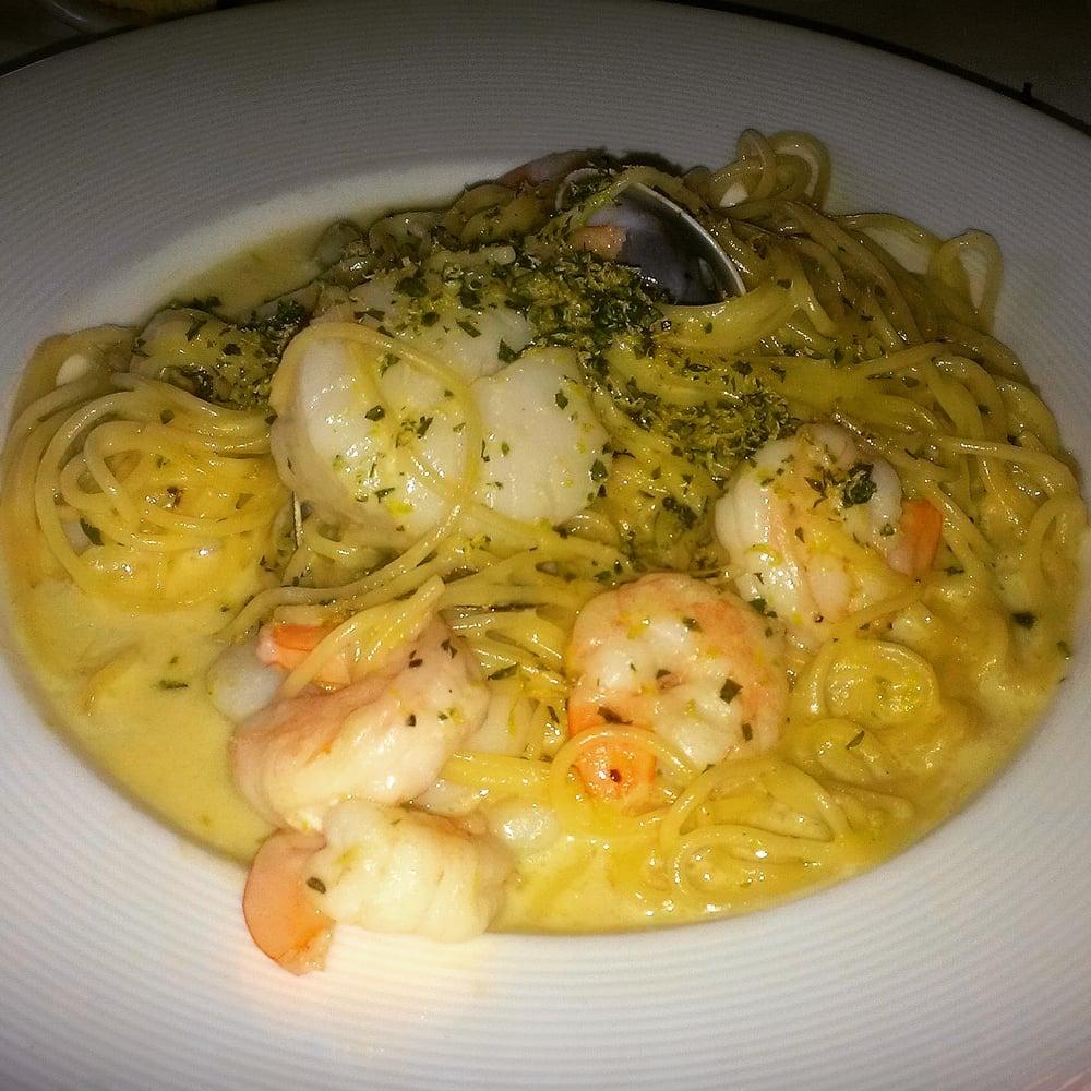 Seafood spaghettini yelp for Adriatic cuisine