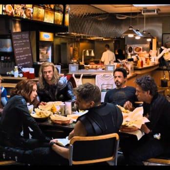 Shalom Grill Avengers Shawarma Location