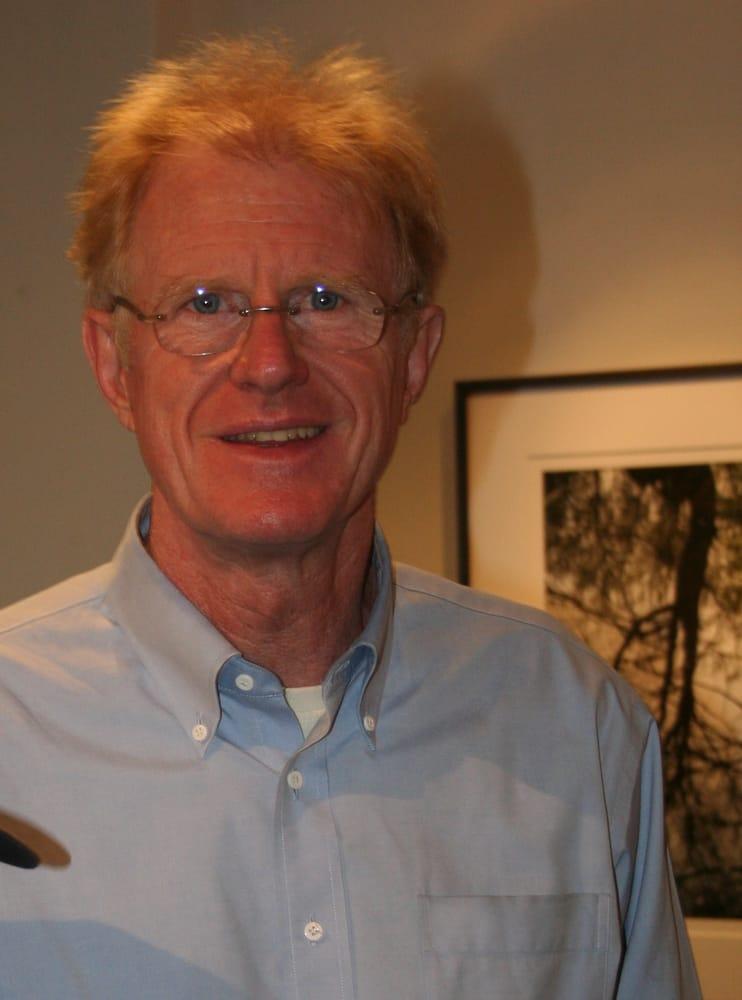 Ed Begley at reception for photographer Robert McGinley - Yelp