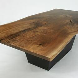 Photo Of Loki Custom Furniture   Somerville, MA, United States. Walnut Slab  Dining