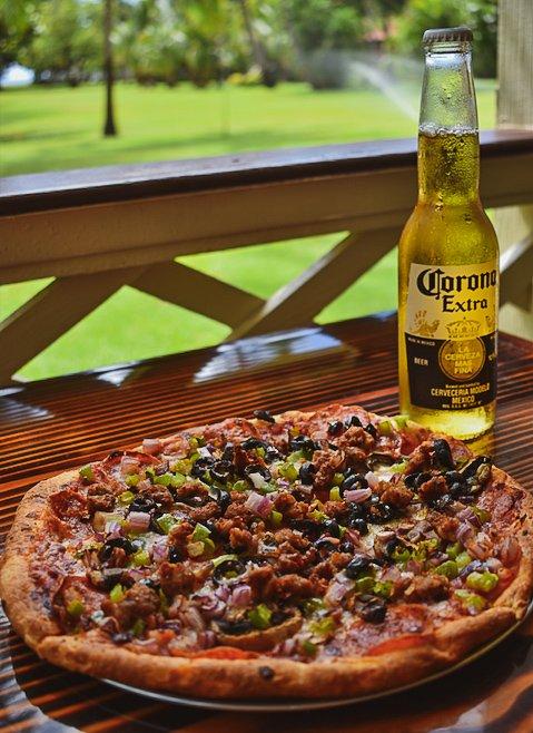 Da Pizza Place: 9400 Kaumualii Hwy, Waimea, HI