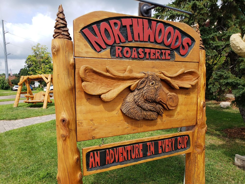 Northwoods Roasterie: 12710 N 1st Ave, Lindstrom, MN
