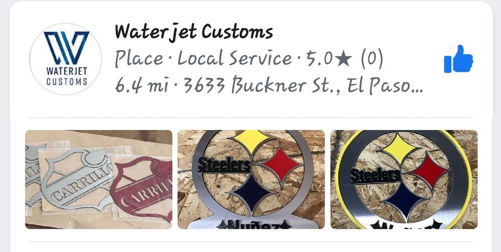 Waterjet Customs