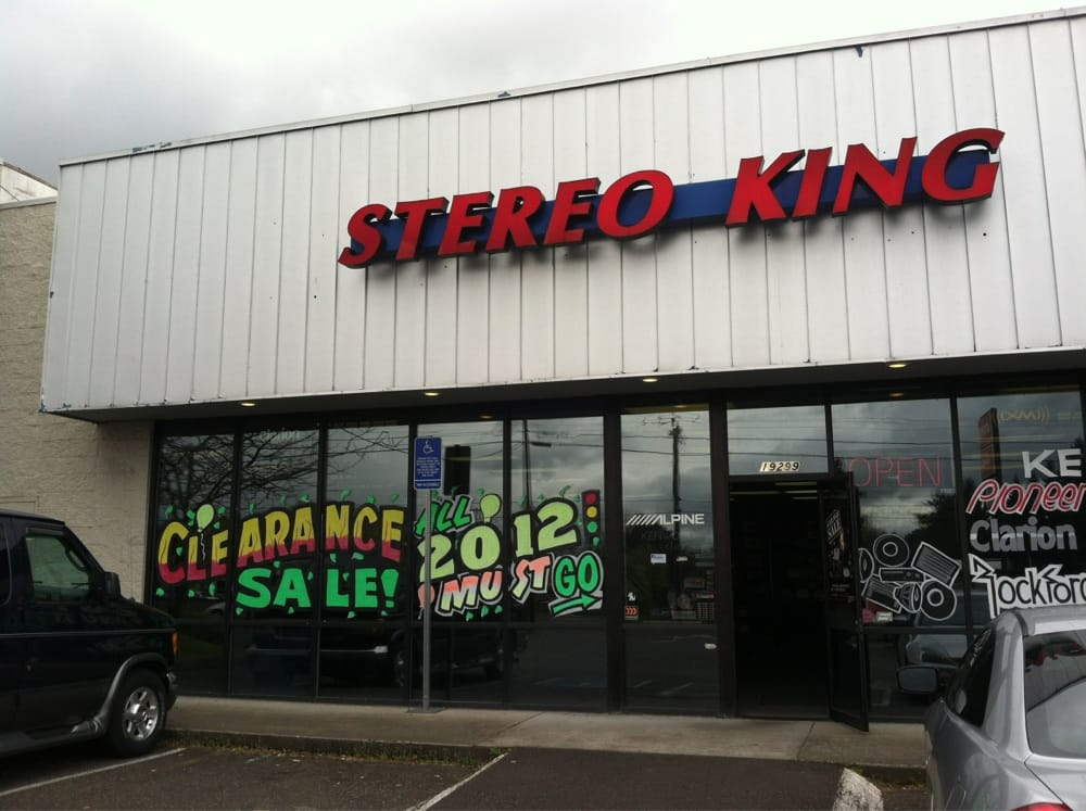 Stereo King: 19299 SW Tualatin Valley Hwy, Aloha, OR