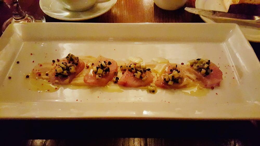 Hamachi crudo delicious yelp - Elite cuisine kansas city ...